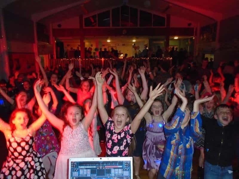 Kids Mobile Disco bury st edmunds school disco themed party