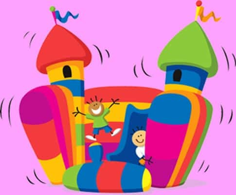 mobile disco hire bouncy castle