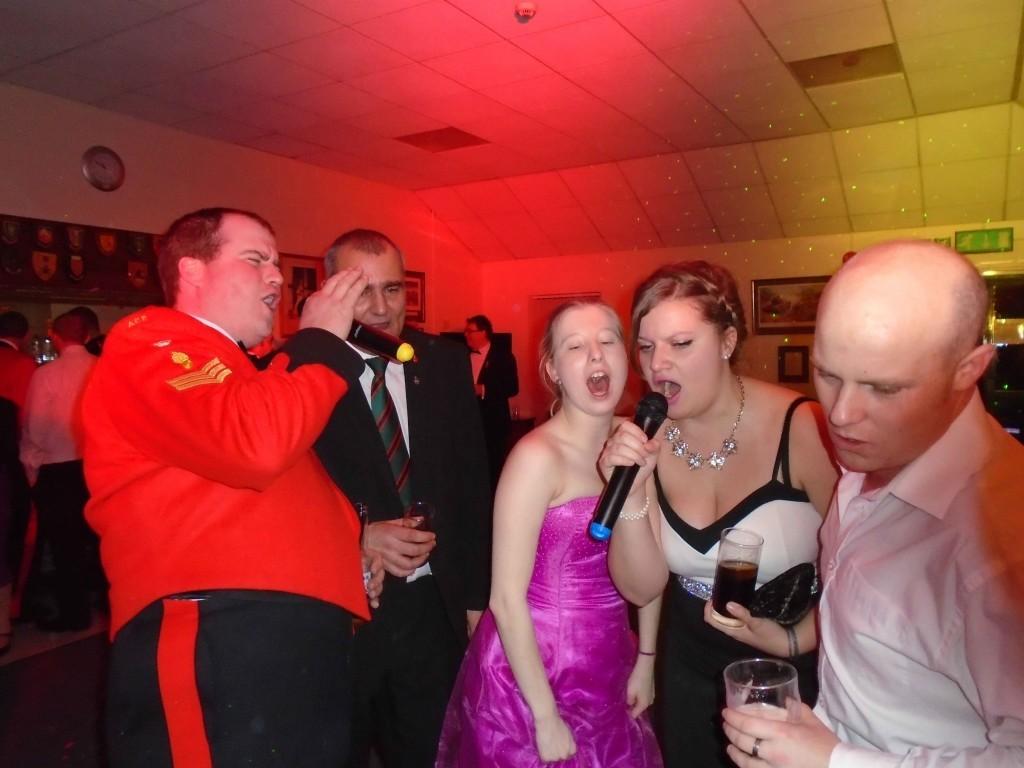 Sgts Mess Army Karaoke thetford norfolk - mindys roadshow