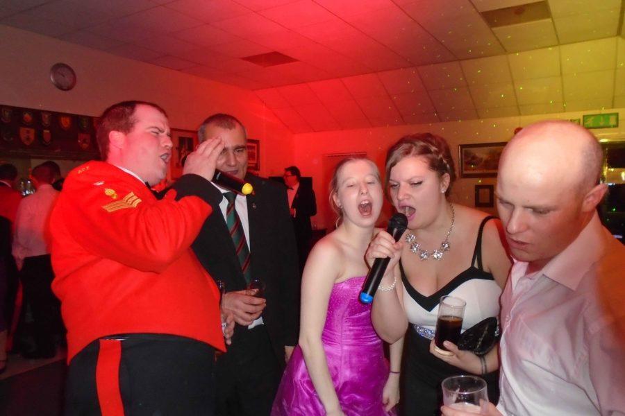 Karaoke - Army - sgts mess - Karaoke thetford norfolk - mindys roadshow