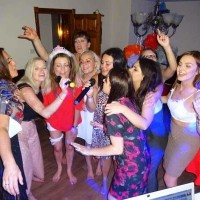 mobile disco hire Hen Party Highfield Lodge Diss Girls Night Out Disco Karaoke Disco