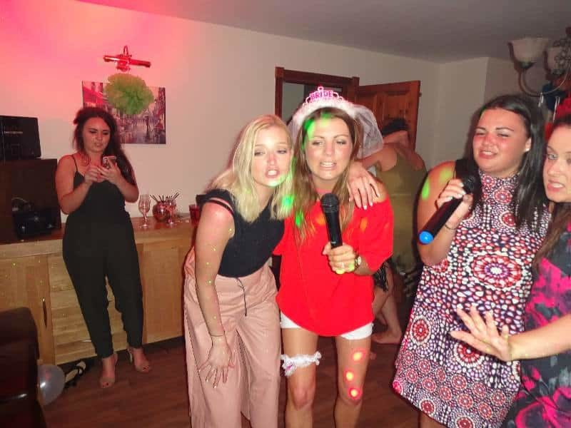 mobile disco hire Hen Party Highfield Lodge Diss Girls Night Out Disco Karaoke Disco