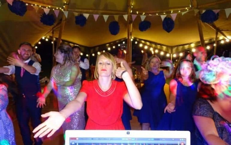 mobile disco hire Wedding Disco Tipi Norfolk Karaoke Party