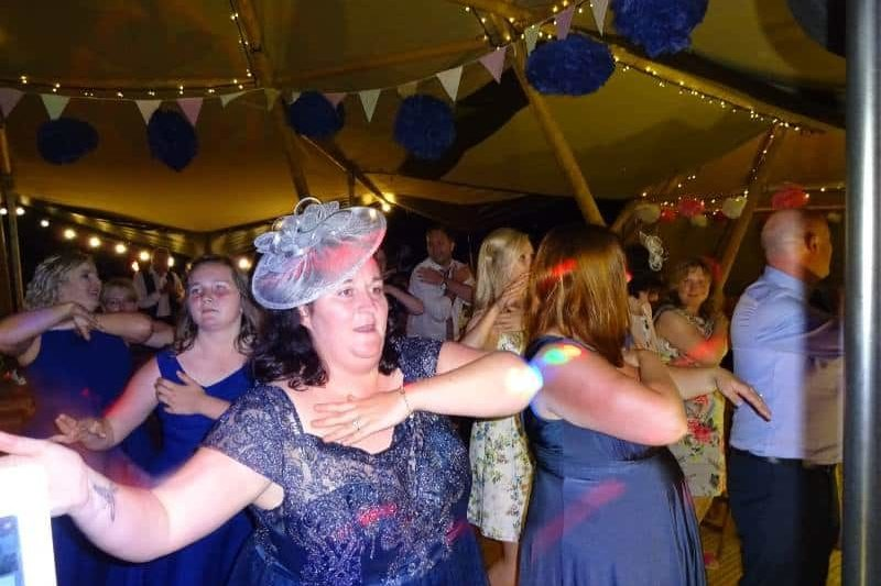 Wedding Disco College Farm Weddings Tipi Norfolk Karaoke Party