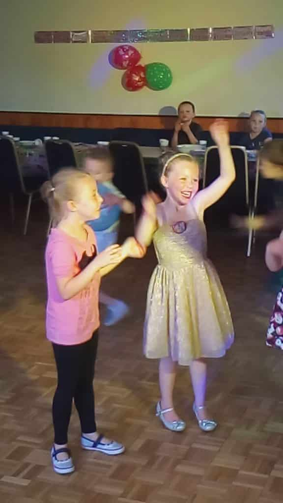 kids party - british legion brandon - mindys roadshow