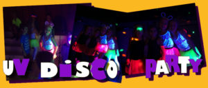 Children's UV Disco Parties
