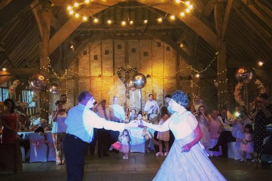 Red Barn Norfolk - Wedding Reception Disco