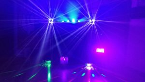 UV Disco Party Cloverfields Church Thetford Mindys Roadshow