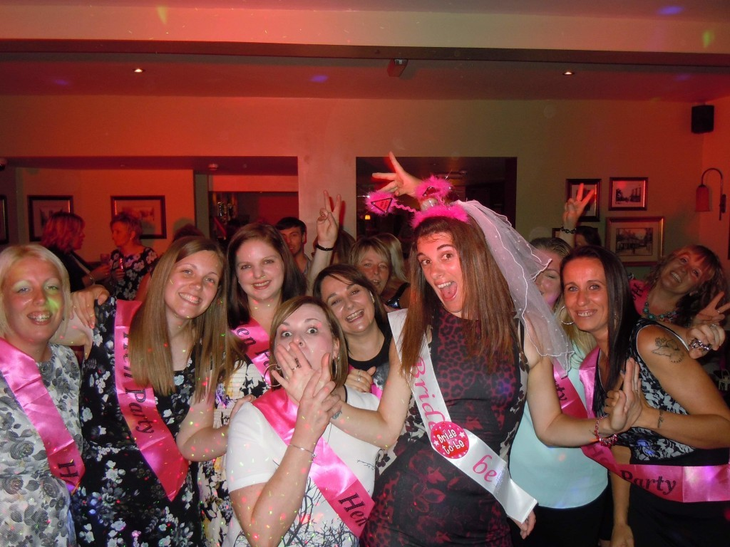 Hen party Ark Pub Thetford